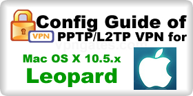 VPN Config Guide for MacOSX Leopard
